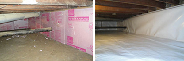 Crawl space encapsulation and repair b dry louisville for Crawl space excavation cost