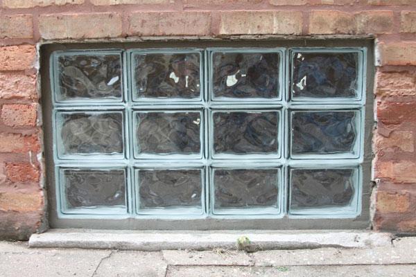 Brick Basement Window Wells